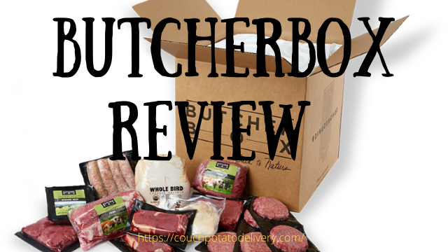 Picture of Butcher Box with meat on the table