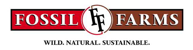Logo for this fossil farms review.