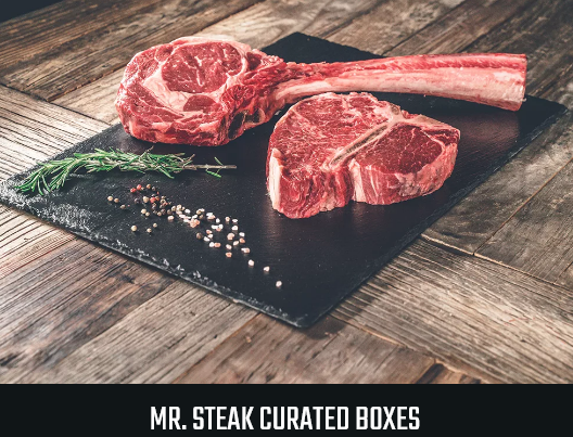 Mr steak curated box