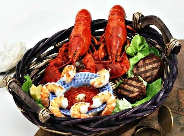 Lobster Anywhere dinner