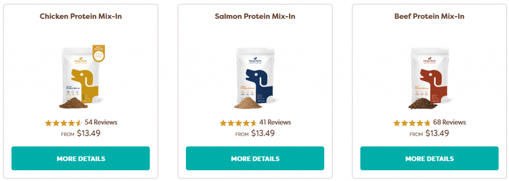 hungry bark dog protein mix